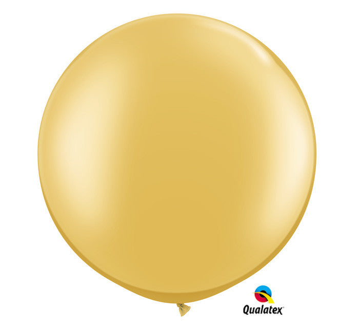 "30"" Large Gold Balloon"