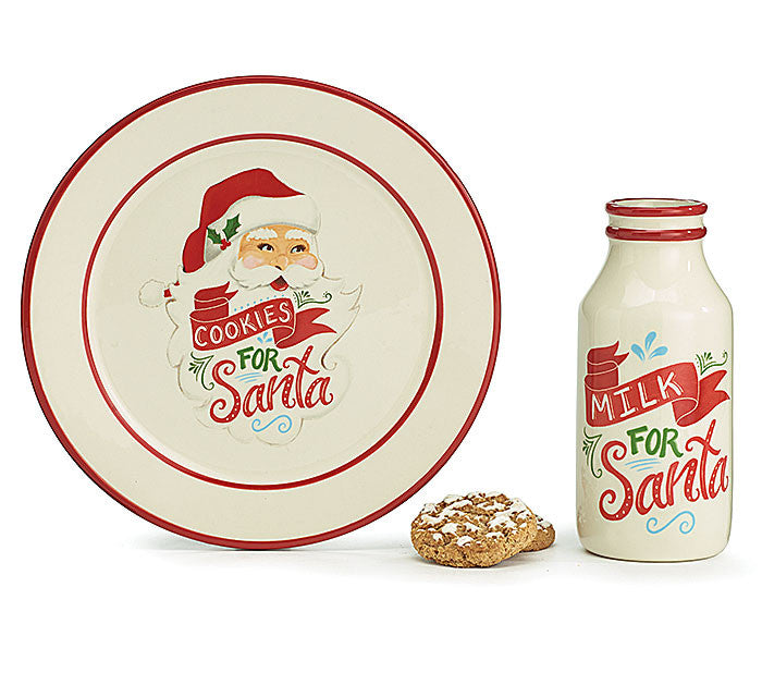 christmas, cookies for santa, santa