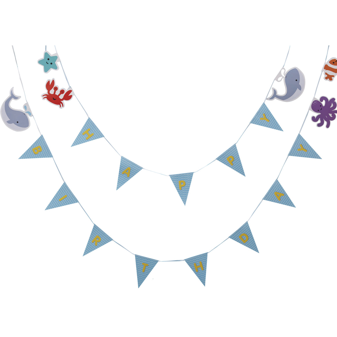 Under The Sea - Bunting