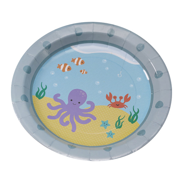 Under The Sea - 8 Paper Plates