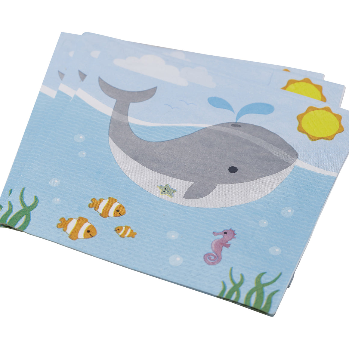 Under The Sea - 20 Paper Napkins
