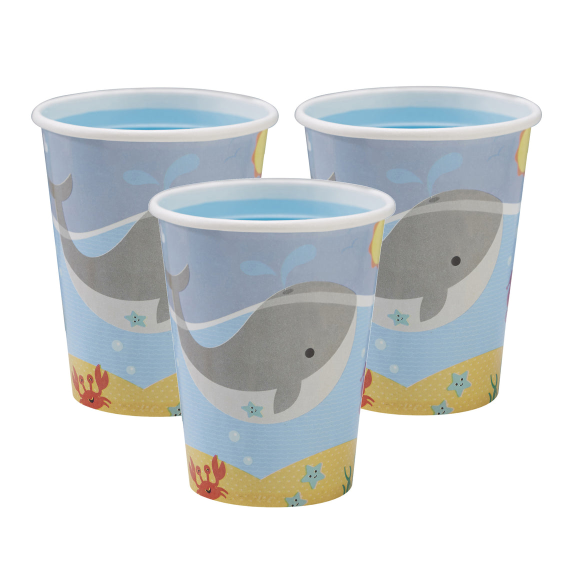 Under The Sea - 8 Paper Cups