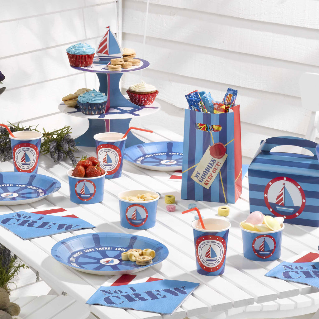 ahoy nautical ocean boat sea party supplies
