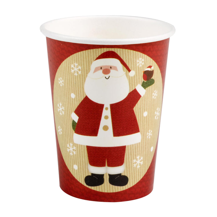 Let It Snow Santa 8 Cups
