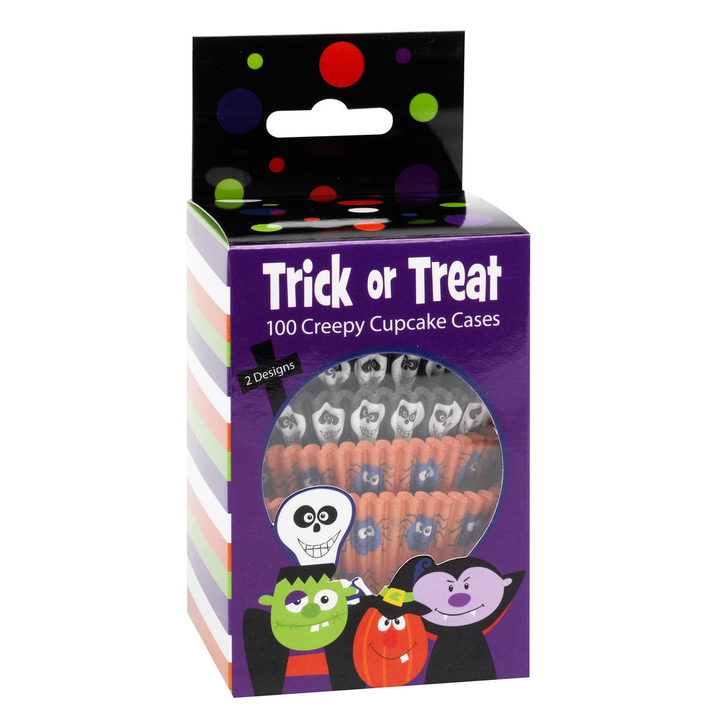 Trick or Treat 100 Cupcake Cases
