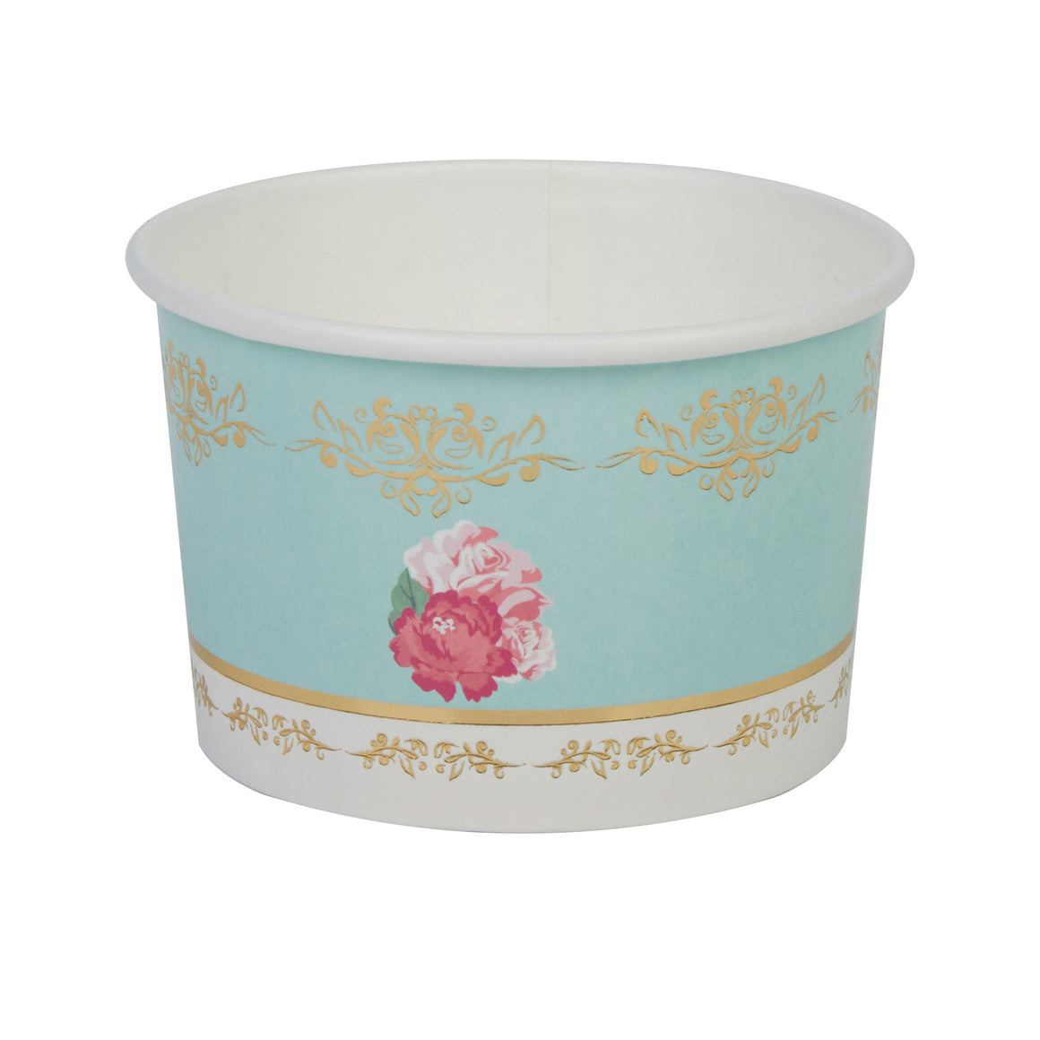 eternal rose tea party treat cups party supplies