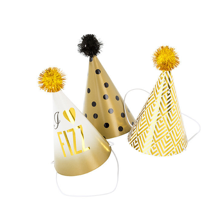 Mini Glam 6 Party Hats