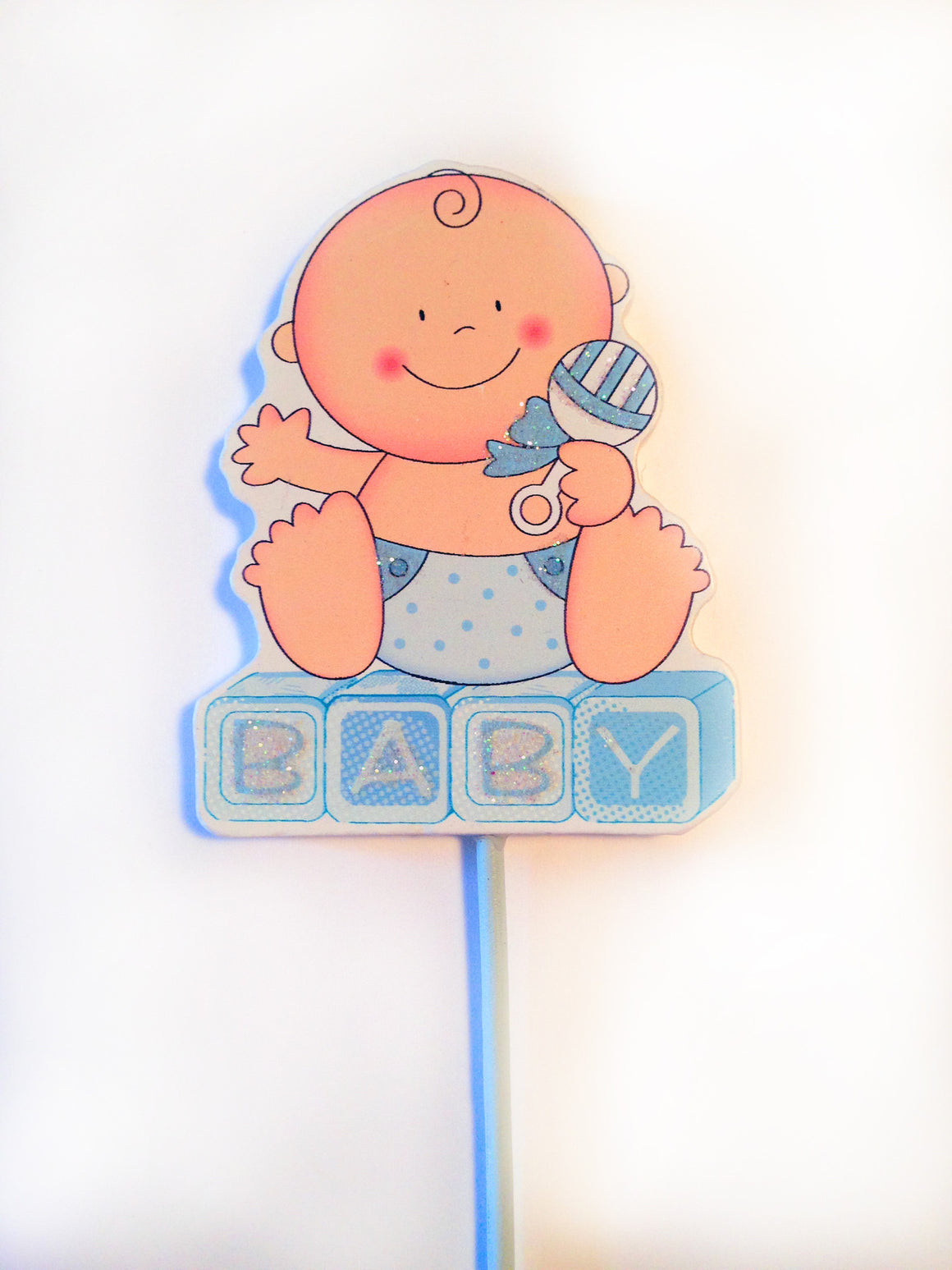 Baby Boy Blue Centerpiece Decorations