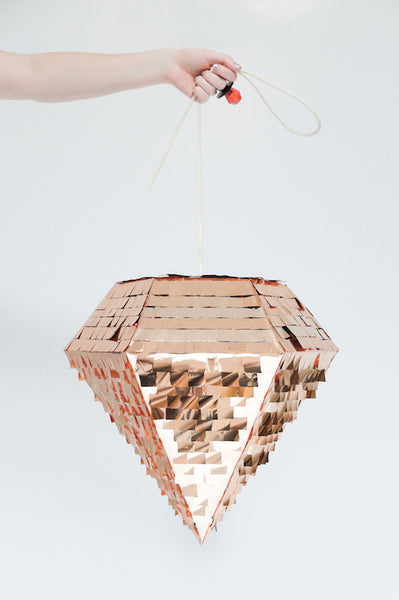 Diamond Piñata - Copper