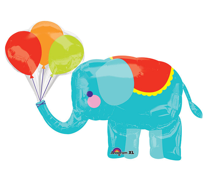 "Circus Elephant 36"" Balloon"