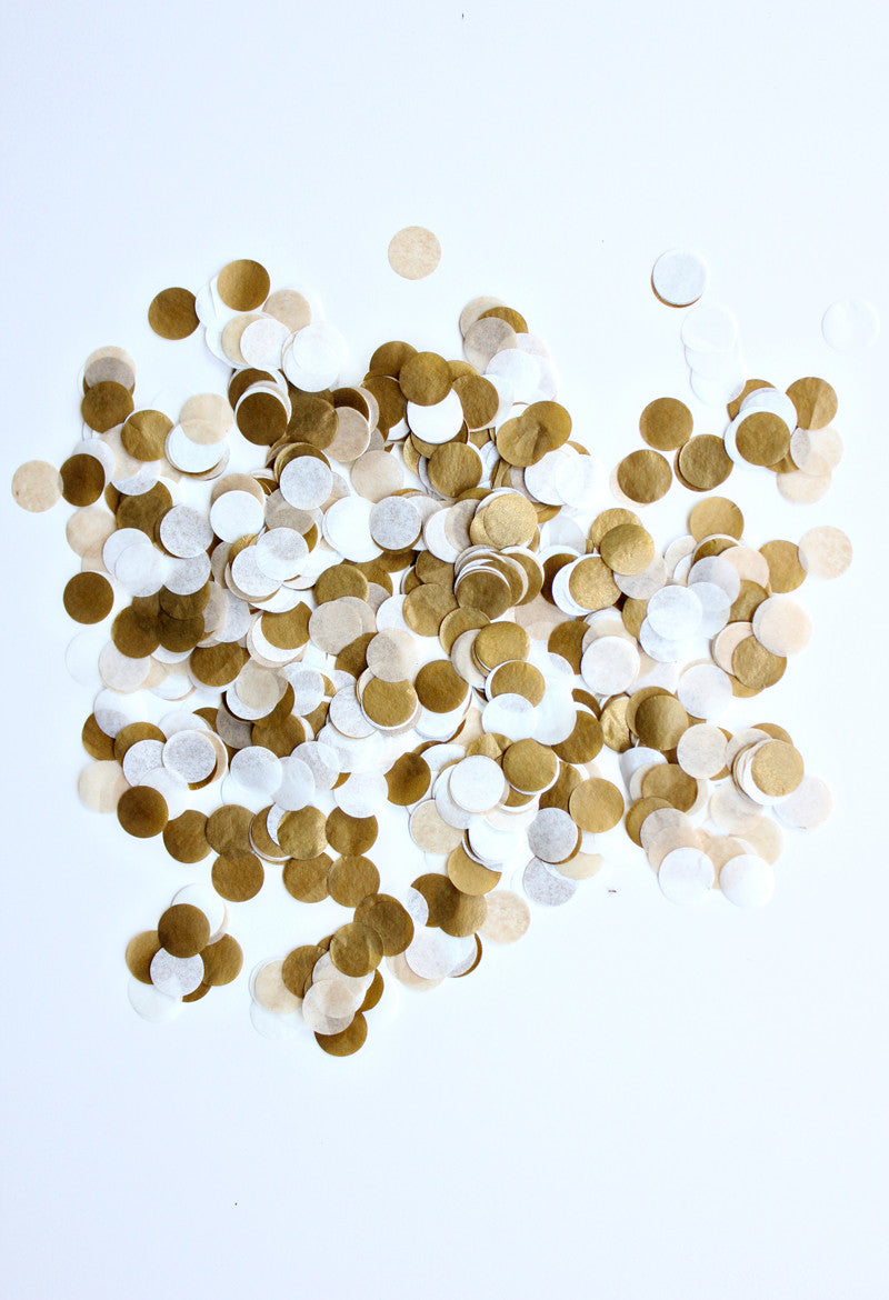 Handcut Confetti - Golden
