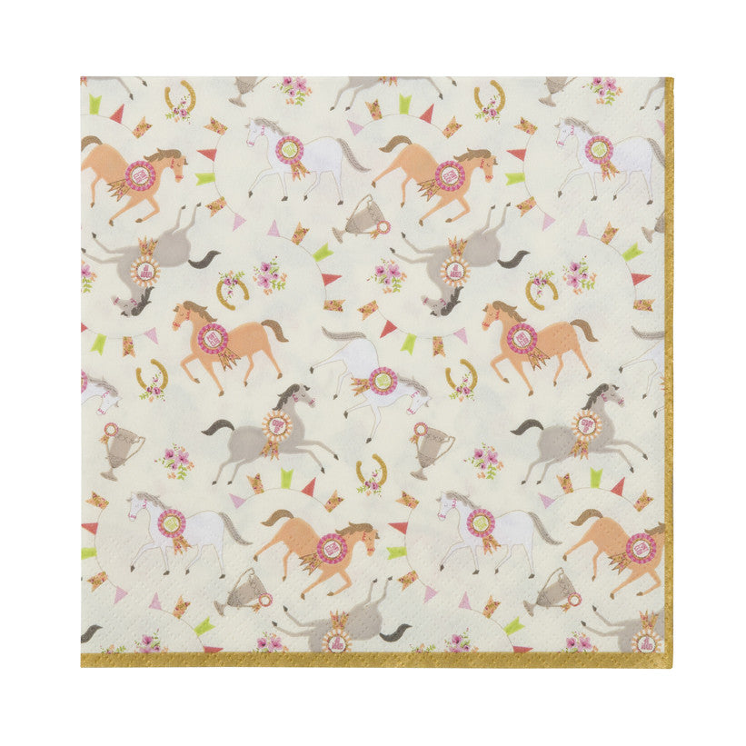 Pony Party 20 Picnic Napkin
