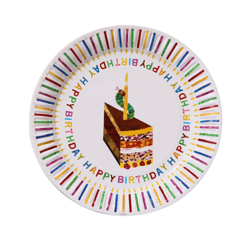 Classic The Very Hungry Caterpillar 8 Plates
