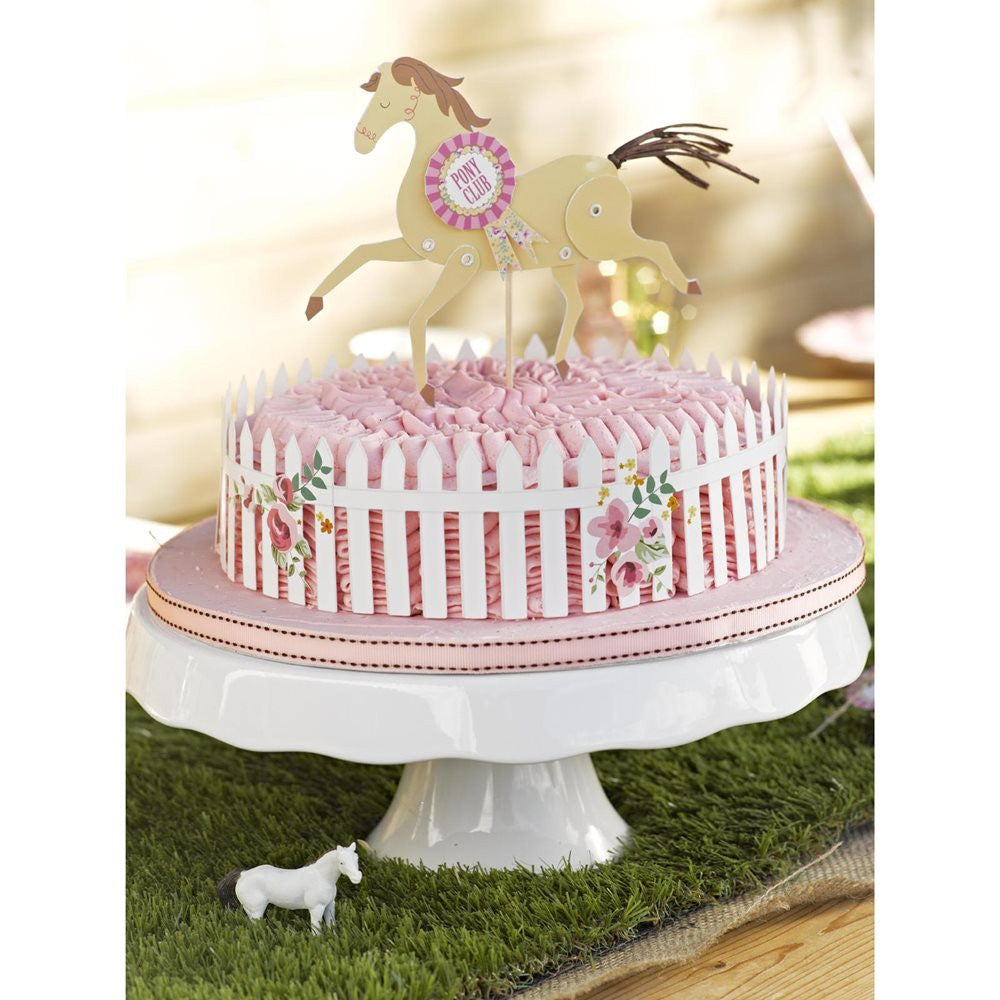 Pony Cake Topper & Wrap