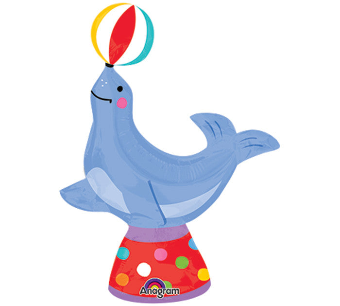 "13"" Circus Seal Mini Shape Balloon"