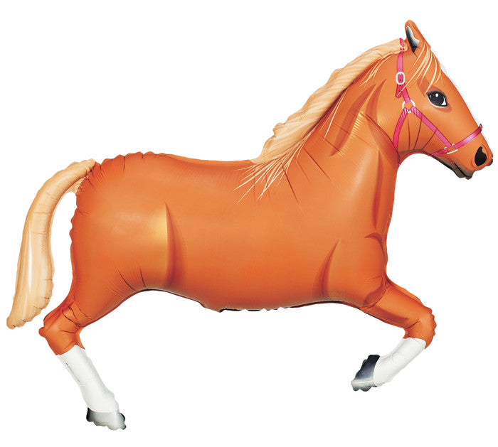 "Tan Horse 43"" Balloon"