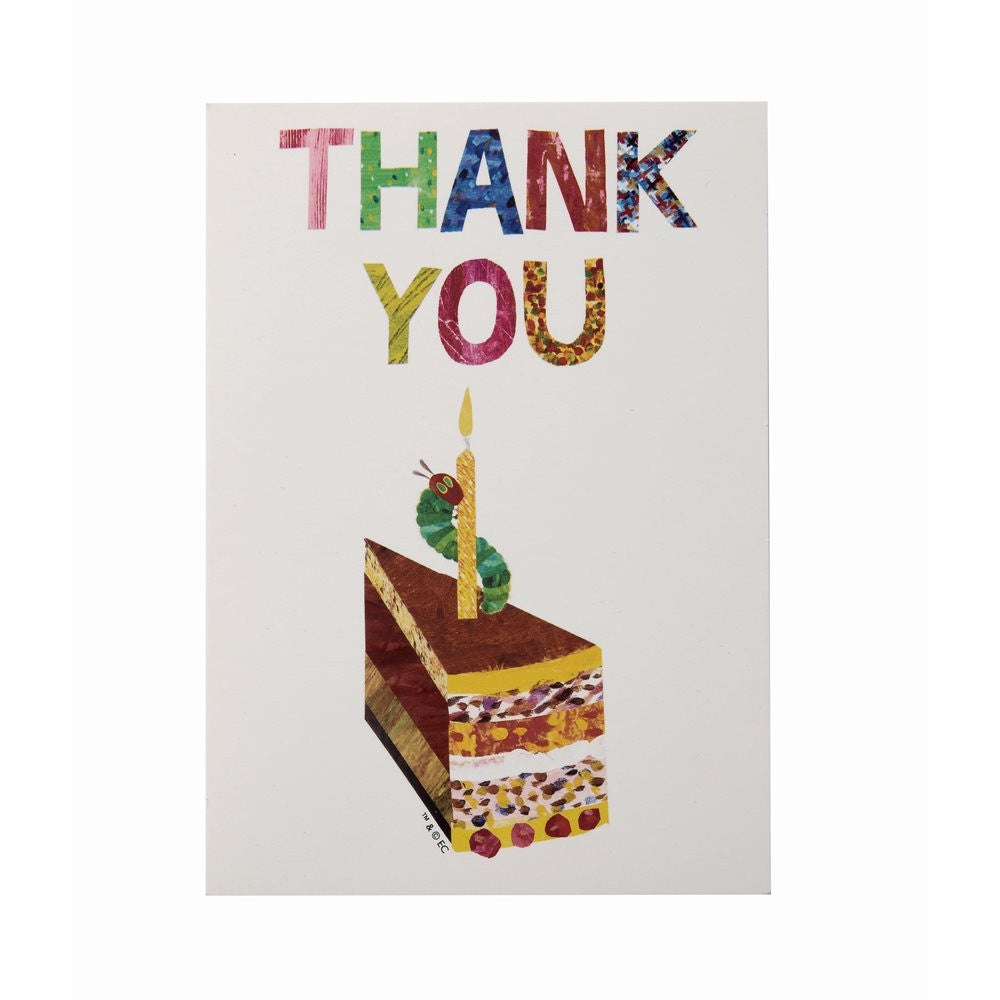 The Very Hungry Caterpillar 10 Thank You Cards