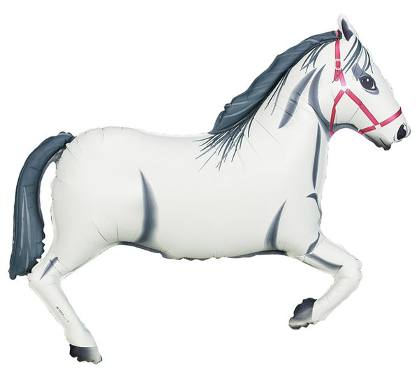 "White Horse 43"" Balloon"
