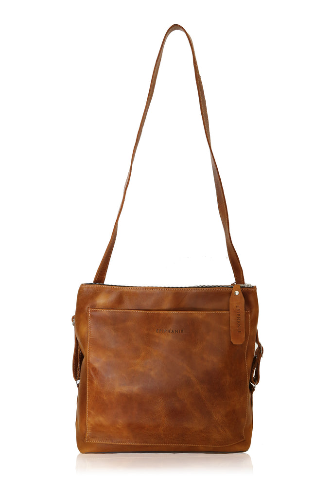 DAKOTA - Backpack Convertible - Brown