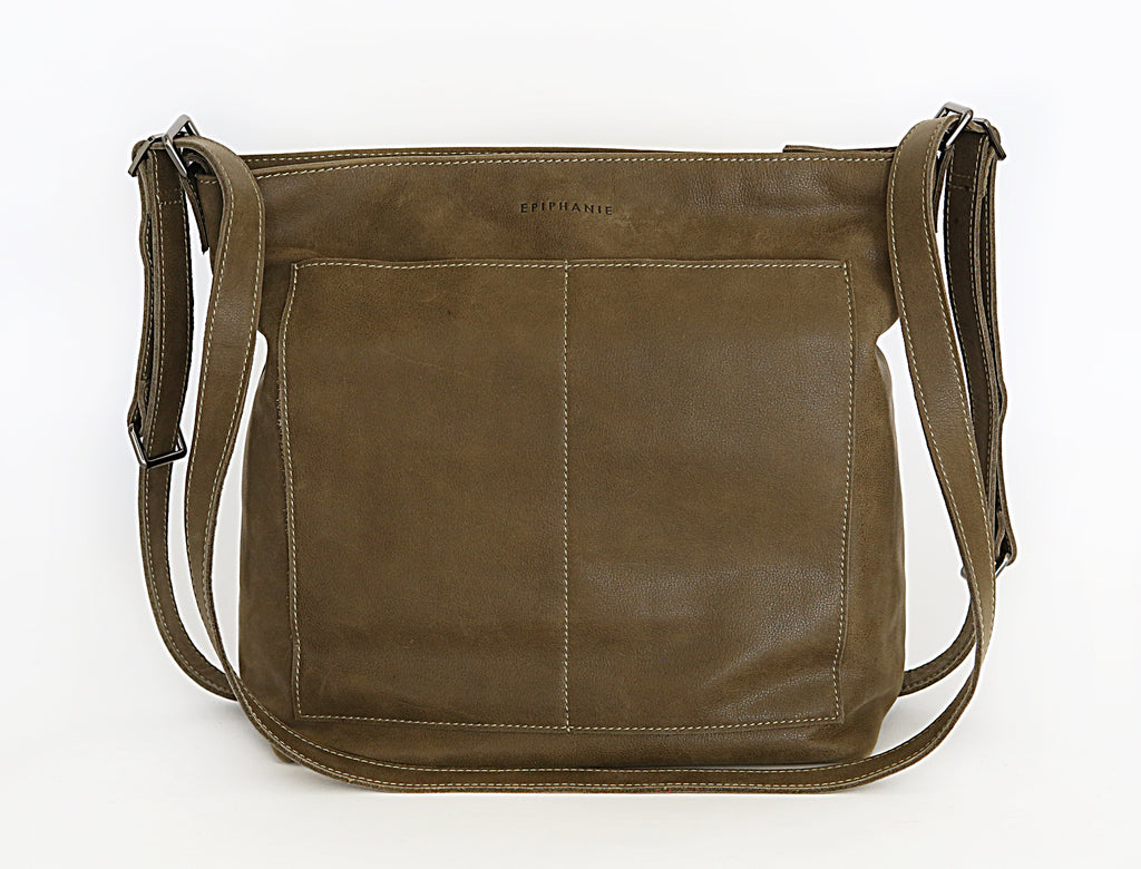 MARBELLA - Backpack Convertible - Olive