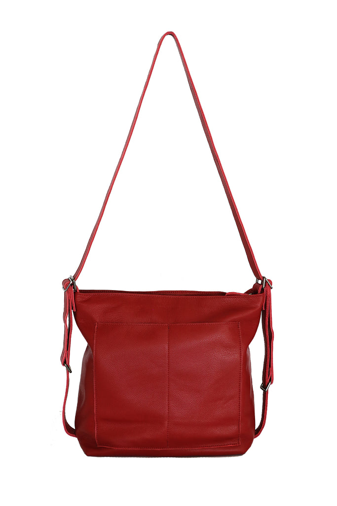 MARBELLA - Backpack Convertible - Red