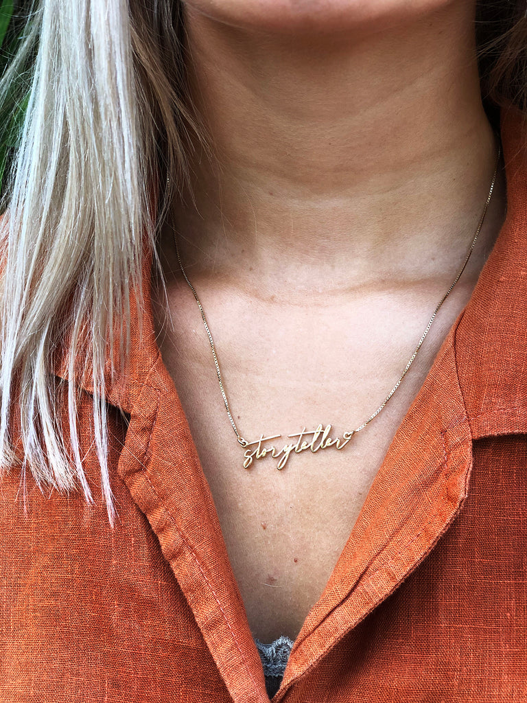 Necklace - Storyteller