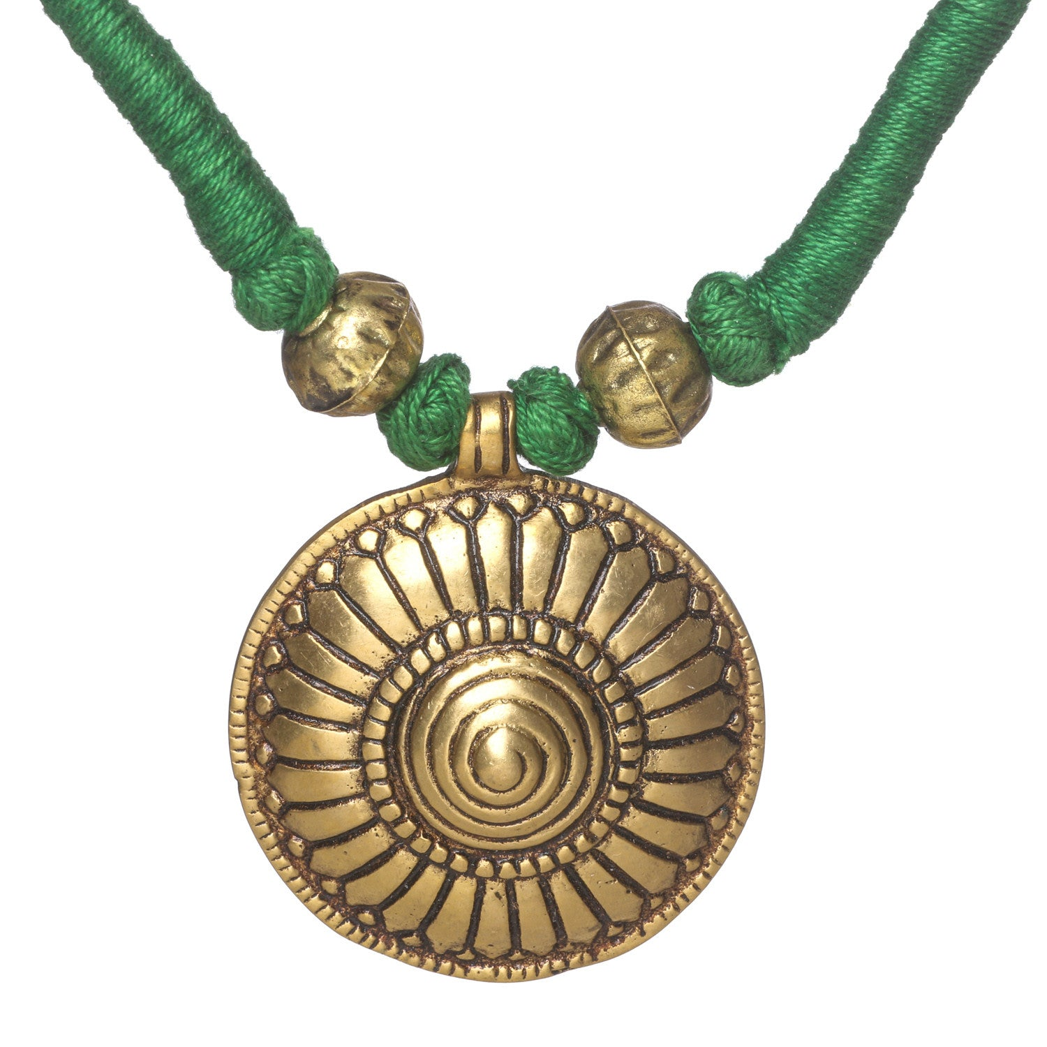 Himachali Tribal Green Necklace