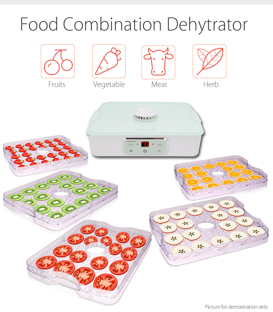 Premium Food Dehydrator Healthy Life Style Food Combination Dehytrator Fruits Vegetable Meat Herb