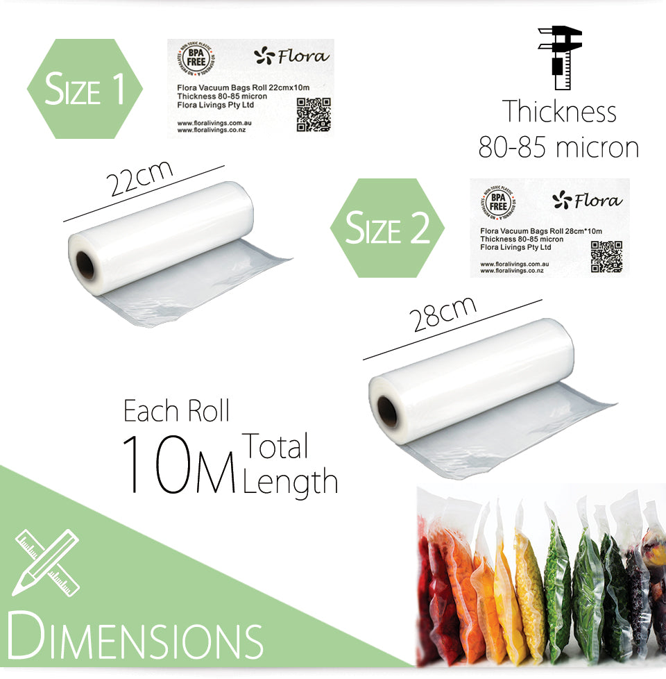 Material Dimensions 10m total length thickness 80-85 micron