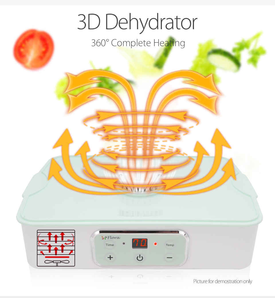 Premium Food Dehydrator Healthy Life Style Electrical Version Mechanical Version 3D Dehydrator 360?? Complete Heating