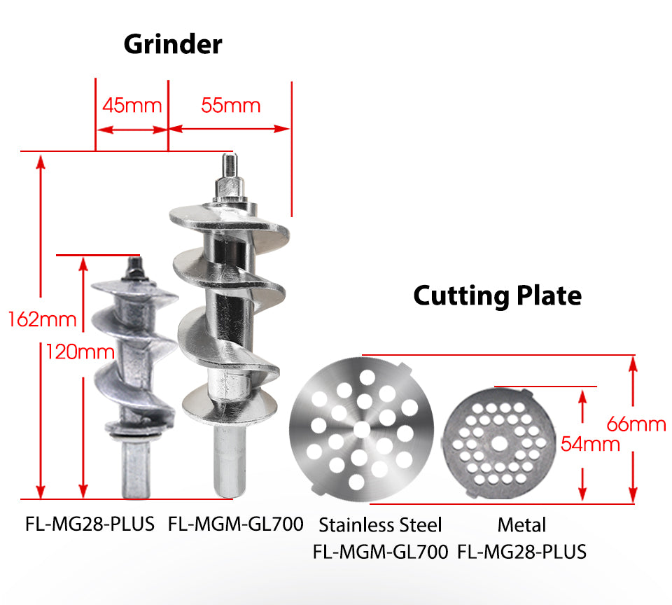 Grinder cutting plate FL-MG28-PLUS FL-MGM-GL700 Stainless Steel