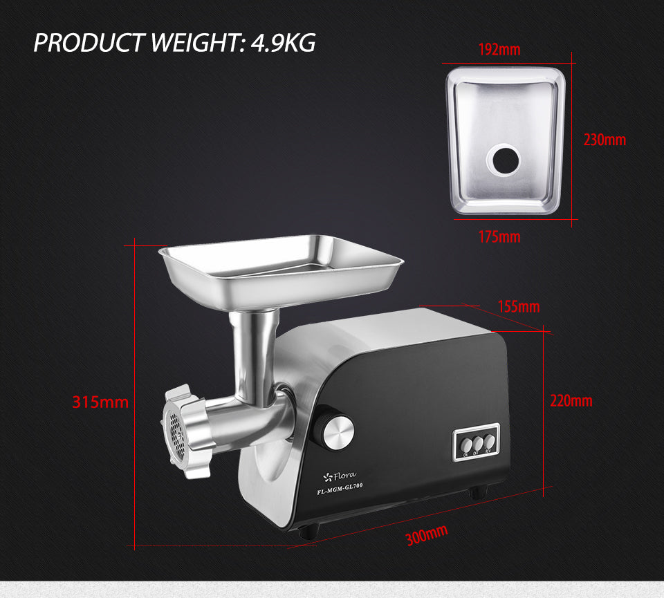 PRODUCT WEIGHT: 4.9KG measurement