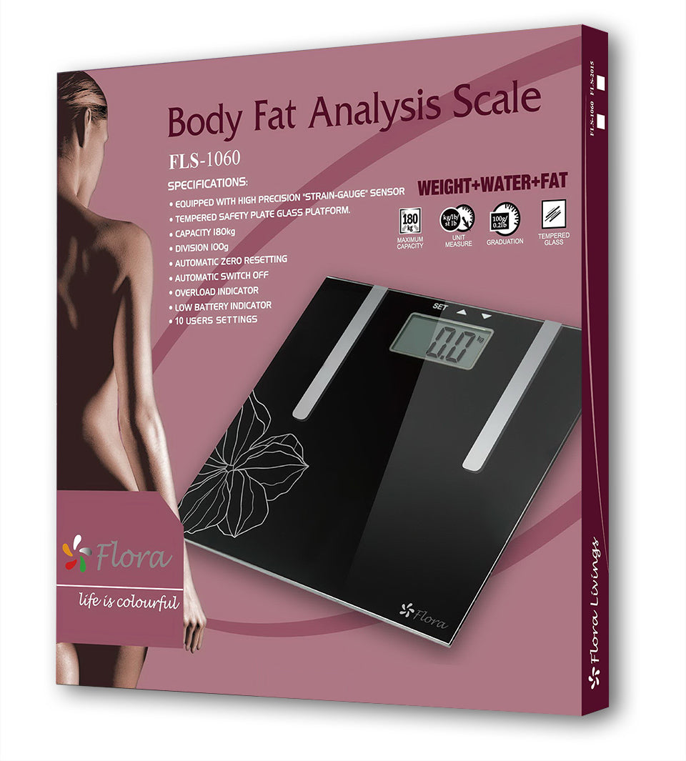 Flora Body Scale Water & Fat Analysis