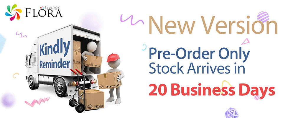 Floralivings New Version Pre-Order Only Stock Arrives in 20 Business Days
