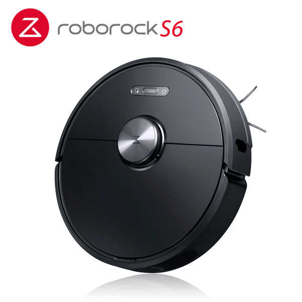Xiaomi Mi Roborock S6 Robot Robotic Vacuum Cleaner Black AU Version Xiaomi Mi App 3nd Gen