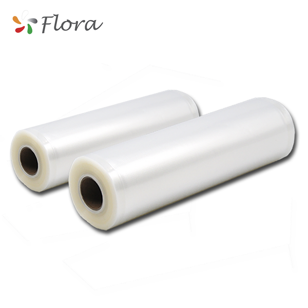 Flora Food Vacuum Sealer bag rolls Storage Saver Seal rolls 10M 22cm & 28cm