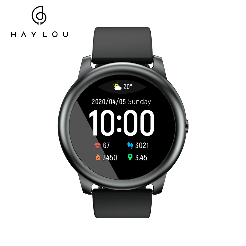 Haylou Solar LS05 Smart Watch Sports Tracker Heart Rate Monitor Global Version