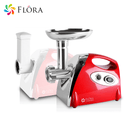 Flora Electric Meat Mincer Slicer Shredder Kit Grinder Sausage filler 2800
