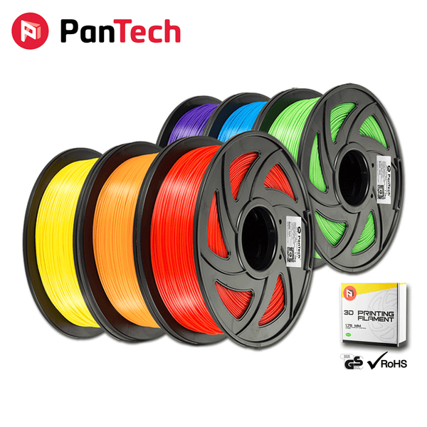 PanTech 3D Printing Filament PETG PLA ABS + WOOD Carbon Fibre 1KG Printer
