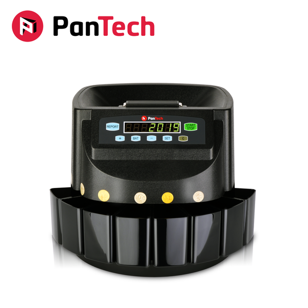 PanTech Australian Coin Sorter Coin Counter Machine Automatic Electronic PT-CSB-BLACK