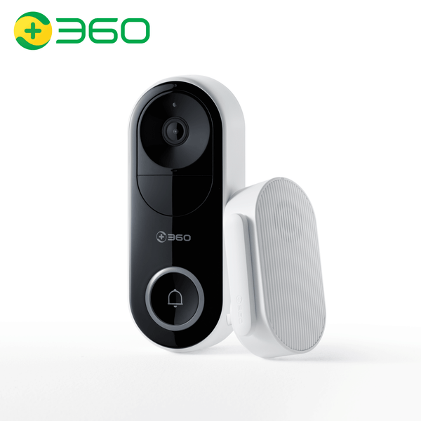 360 Smart Wireless Wifi Doorbell D819
