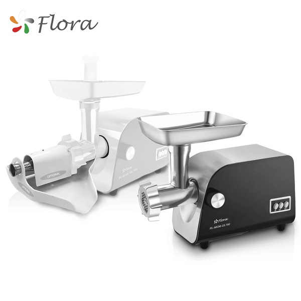 Flora Mincer Electric Meat Grinder Tomato Sauce Kit Kibbe Maker Filler