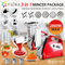 Flora Electric Meat Grinder Tomato Sauce Slicer Shredder sausage Maker 2800