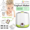 New Flora Automatic Yoghurt Maker \ Rice Wine Machine 1L FDA APP