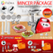 Flora Electric Meat Grinder Tomato Sauce Slicer Shredder PACKAGE PKG