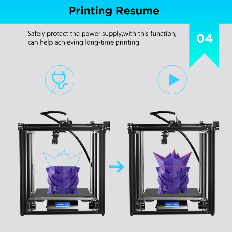 CREALITY ENDER-5 PLUS DIY 3D Printer
