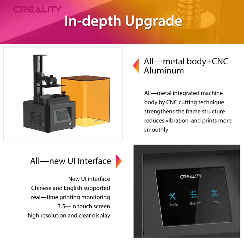Creality LD-002R UV Resin 3D Printer