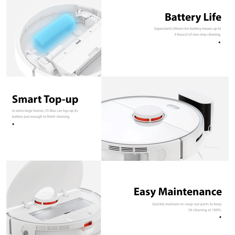 Roborock S5 MAX Robot Vacuum Cleaner Robotic Genuine AU Version Mi Home App