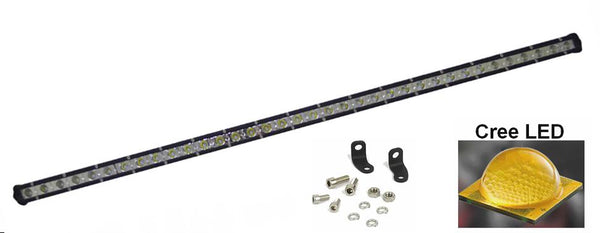 Super slim 72 - 90 - 108 watt single row LED Lys bro / lys bar