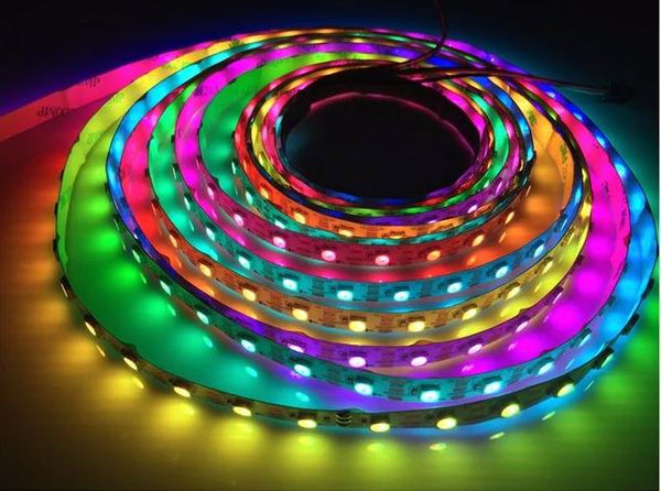 5 meter, 12 volt, 60 watt, 300 LED, MAGIC LED strip komplet sæt